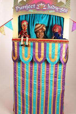 Punch and Judy acts for children's events